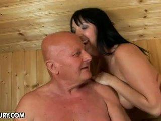 kwaliteit neuken porno, brunettes neuken, vader video-
