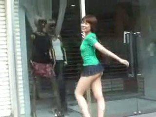 Busty Hoe In Mini Skirt In Public