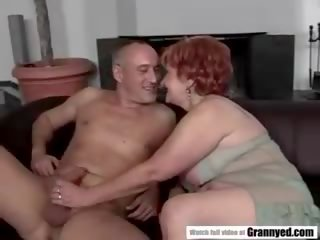 Super Granny Justina: Free Lusty grandmas Porn Video fa