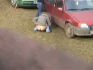 Girl Caught Pissing Outdoor - Nice Ass