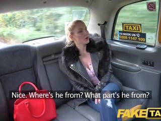 Fake Taxi Blue eyed Scottish babe loves rough fucking on back seat of taxi