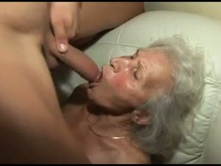 echt grannies mov, behaard tube