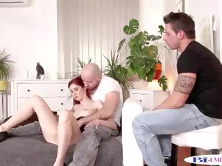 Bisex Voyeur Hunk Joins Couple in Mmf Trio: Free HD Porn 52