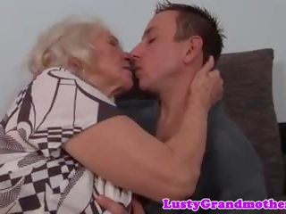 Hairy Granny Pussyfucked in Closeup, Free Porn b5