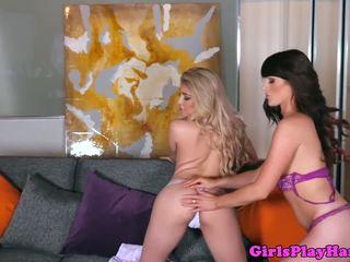 Lingerie Sappho Feasting on Moist Vagina, Porn 82