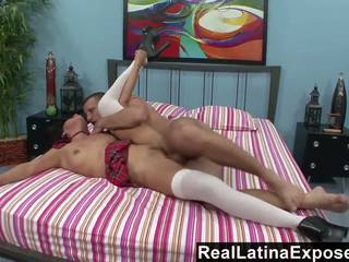 RealLatinaExposed Latina Student Learns