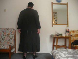 V in Black Stockings: Striptease Porn Video b9