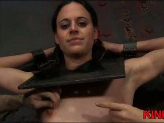 bdsm klem, u slavernij porno, heet bdsm lesbian bondage actie