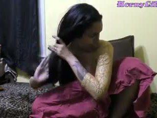 Horny Lily Indian Bhabhi Diwali Role Play in Hindi: Porn 09