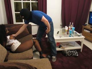 Black Bondage Whore: Hogtied HD Porn Video ec
