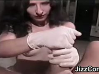 brunette, vol kleine tieten, vol pov video-