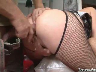 deepthroat, skupinový sex, vidět prdel kurva plný
