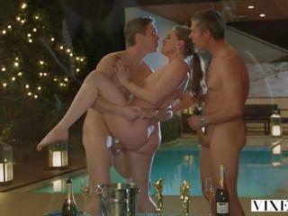 VIXEN Enticing Threesome Compilation