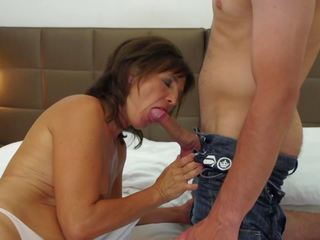 Mature Mother gets Young Cock and Cum to Mouth: HD Porn 05