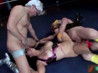 Chyna wrestler takes 它 肛交 满 现场 2
