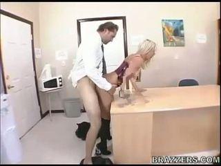 Slut Bree Olson enjoys hardcore fucking and warm facial