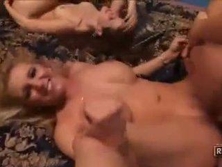그룹 섹스 가장, 큰 포섬 좋은, 여배우 신선한