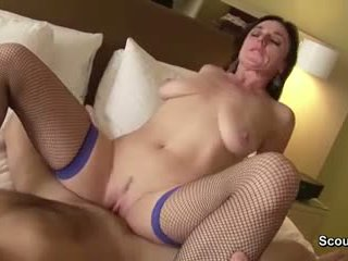 German Mom and Dad in privat Sextape first time Anal fuck