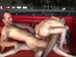 vers dubbele penetratie, alle gangbang video-, meer ruige seks neuken