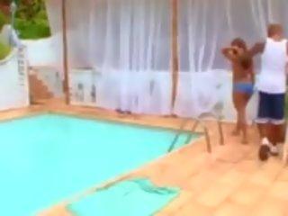 beste braziliaans scène, vol pornstar, vers buiten- tube