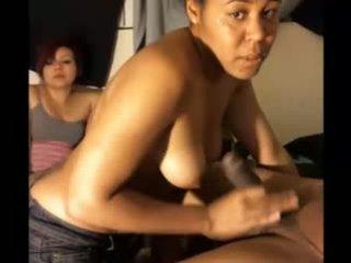 2 Horny GirlS Big Cock - White Cuban Girl