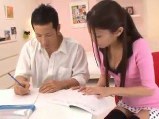 Astounding kinesisk nymph receives cumload etter stor having sex sex.