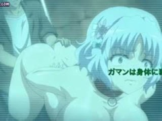 Tied Up Anime Slut Gets Rubbed