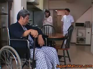 pinakamabuti brunette kalidad, real japanese lahat, bago group sex panoorin