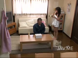 japānas, laizīšana, mazs krūtis