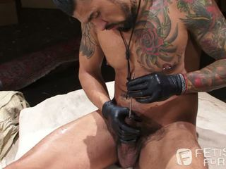 Boomer Banks Uses Sounding Rod In His Massive 10 Inch Cock
