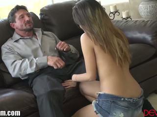 nominale brunette video-, online orale seks neuken, kijken deepthroat