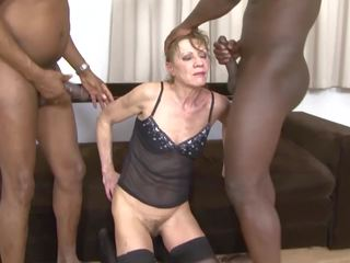 watch grannies scene, check threesomes, full interracial