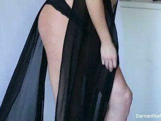 Samantha Saint tease