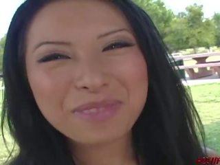 Asian Lesbian Picks Up College Girl for Sex