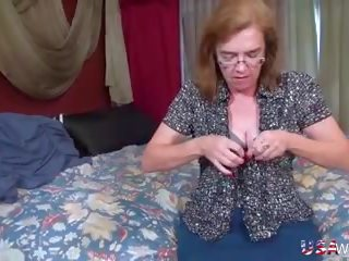 Usawives Hairy Mature and MILF Pussies got Toys: HD Porn aa