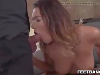 Sexy Footjob and Pussy Pounding, Free HD Porn 76