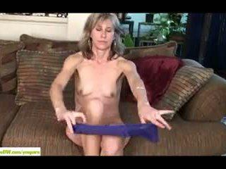 Wife Olive Jones Stuffs Bush With Toy