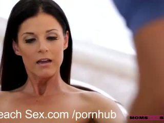 Cum swapping mommy and daughter
