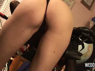 Cyntia Make Exercise on Bicycle and Masturbates: HD Porn 7e