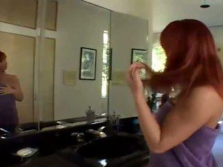 Redhead Katja Kassin waiting for five black cock
