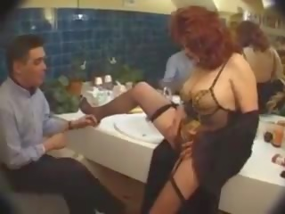 French Salope: Free Orgy Porn Video af