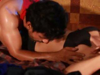 Hot scene in making for Bgrade movie indian