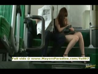 Rioasian model is fucked on the bus