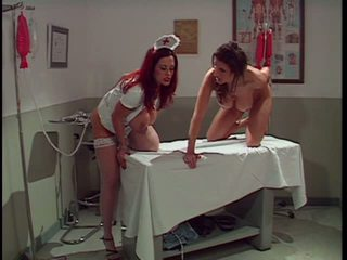 Redhead Nurse Gives Patient an Clieaning, Porn 5f