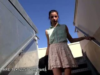 Lovely teen first video casting