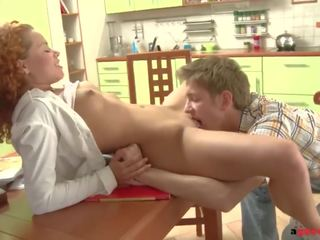 fun pussy licking action, shaved pussy fucking, blowjob movie