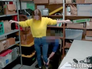 Busty Blonde Russian Teen Thief Nadya Nabakova Fucked By Corrupt Store Officer