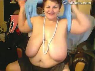 webcam, bbw, oma, solo