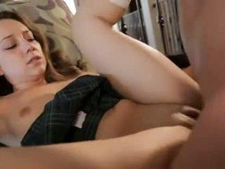 brunette, orale seks neuken, groot deepthroat gepost