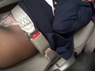 New sextoy for one very hot asian stewardess